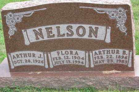 NELSON, ARTHUR B. - Lincoln County, South Dakota | ARTHUR B. NELSON - South Dakota Gravestone Photos