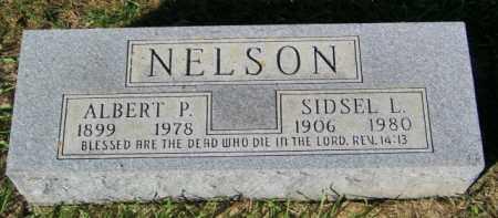 NELSON, SIDSEL L. - Lincoln County, South Dakota | SIDSEL L. NELSON - South Dakota Gravestone Photos