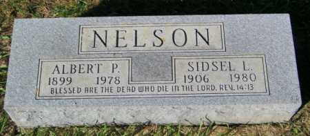 NELSON, SIDSEL L. - Lincoln County, South Dakota | SIDSEL L. NELSON - South Dakota Gravestone Photos