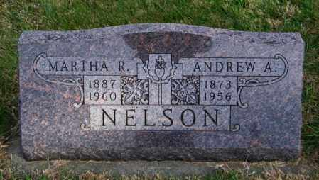 NELSON, ANDREW A. - Lincoln County, South Dakota   ANDREW A. NELSON - South Dakota Gravestone Photos