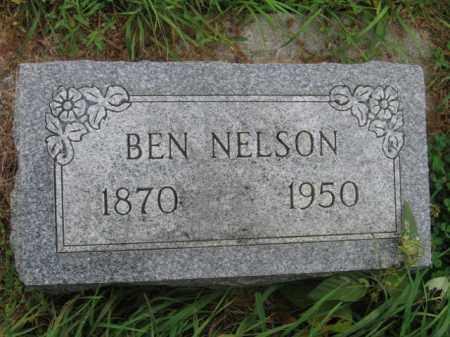NELSON, BEN - Lincoln County, South Dakota | BEN NELSON - South Dakota Gravestone Photos