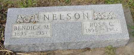 NELSON, ROSA C - Lincoln County, South Dakota | ROSA C NELSON - South Dakota Gravestone Photos