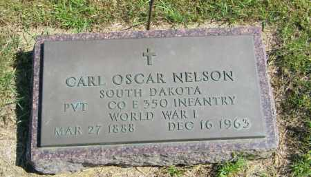 NELSON, CARL OSCAR - Lincoln County, South Dakota | CARL OSCAR NELSON - South Dakota Gravestone Photos