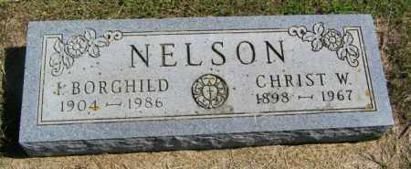 NELSON, CHRIST W - Lincoln County, South Dakota | CHRIST W NELSON - South Dakota Gravestone Photos