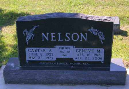 NELSON, CARTER A - Lincoln County, South Dakota | CARTER A NELSON - South Dakota Gravestone Photos