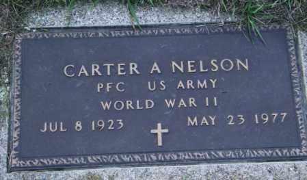NELSON, CARTER A - Lincoln County, South Dakota | CARTER A NELSON - South Dakota Gravestone Photos