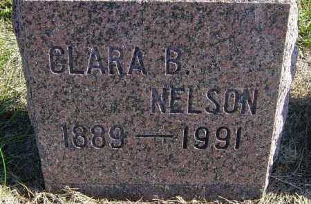 NELSON, CLARA B - Lincoln County, South Dakota | CLARA B NELSON - South Dakota Gravestone Photos