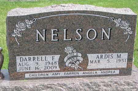 NELSON, DARRELL F. - Lincoln County, South Dakota | DARRELL F. NELSON - South Dakota Gravestone Photos
