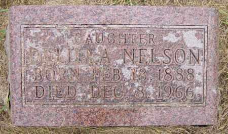 NELSON, DELLILA A - Lincoln County, South Dakota | DELLILA A NELSON - South Dakota Gravestone Photos