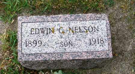 NELSON, EDWIN G - Lincoln County, South Dakota   EDWIN G NELSON - South Dakota Gravestone Photos