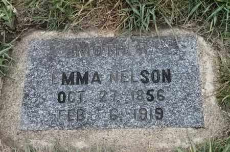 NELSON, EMMA - Lincoln County, South Dakota | EMMA NELSON - South Dakota Gravestone Photos