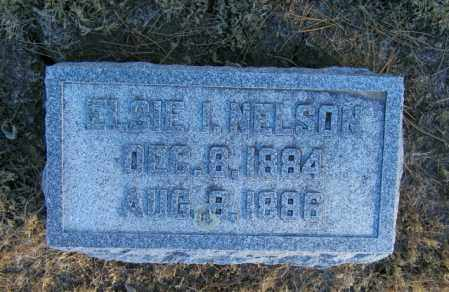 NELSON, ELSIE I - Lincoln County, South Dakota | ELSIE I NELSON - South Dakota Gravestone Photos