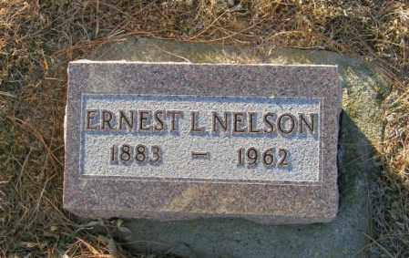 NELSON, ERNEST L - Lincoln County, South Dakota | ERNEST L NELSON - South Dakota Gravestone Photos