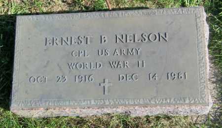 NELSON, ERNEST B. - Lincoln County, South Dakota   ERNEST B. NELSON - South Dakota Gravestone Photos