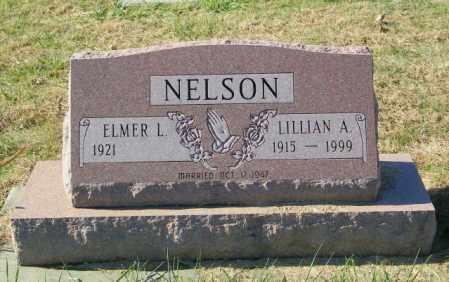 NELSON, ELMER L - Lincoln County, South Dakota | ELMER L NELSON - South Dakota Gravestone Photos