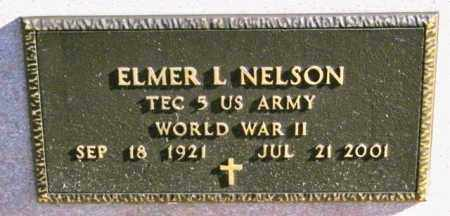 NELSON, ELMER L - Lincoln County, South Dakota | ELMER L NELSON - South Dakota Gravestone Photos