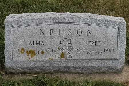 NELSON, ALMA - Lincoln County, South Dakota   ALMA NELSON - South Dakota Gravestone Photos