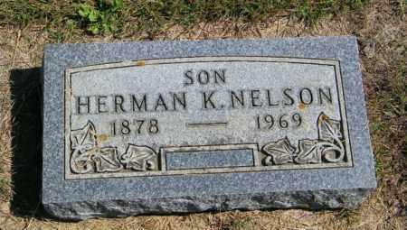 NELSON, HERMAN K - Lincoln County, South Dakota | HERMAN K NELSON - South Dakota Gravestone Photos