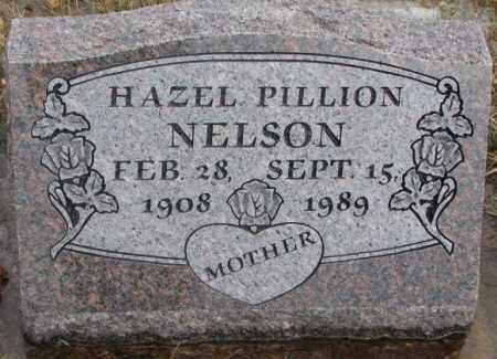 PILLION NELSON, HAZEL - Lincoln County, South Dakota | HAZEL PILLION NELSON - South Dakota Gravestone Photos