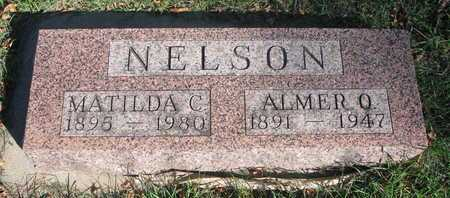 NELSON, ALMER O. - Lincoln County, South Dakota | ALMER O. NELSON - South Dakota Gravestone Photos