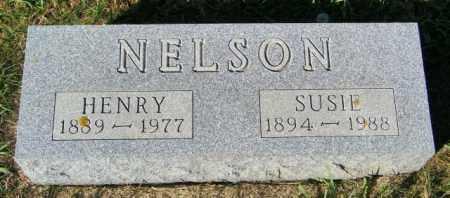 NELSON, SUSIE - Lincoln County, South Dakota   SUSIE NELSON - South Dakota Gravestone Photos