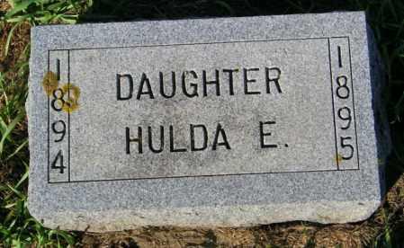 NELSON, HULDA E. - Lincoln County, South Dakota | HULDA E. NELSON - South Dakota Gravestone Photos