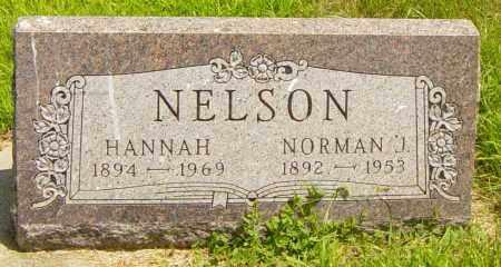 NELSON, HANNAH - Lincoln County, South Dakota | HANNAH NELSON - South Dakota Gravestone Photos