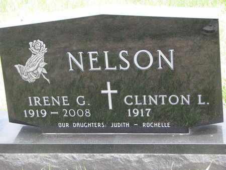 NELSON, IRENE G. - Lincoln County, South Dakota   IRENE G. NELSON - South Dakota Gravestone Photos