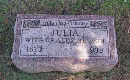 NELSON, JULIA - Lincoln County, South Dakota | JULIA NELSON - South Dakota Gravestone Photos