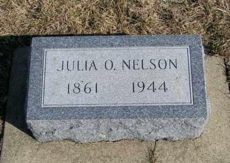 NELSON, JULIA O - Lincoln County, South Dakota | JULIA O NELSON - South Dakota Gravestone Photos