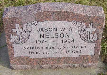 NELSON, JASON W G - Lincoln County, South Dakota | JASON W G NELSON - South Dakota Gravestone Photos