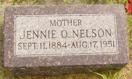 NELSON, JENNIE O - Lincoln County, South Dakota | JENNIE O NELSON - South Dakota Gravestone Photos