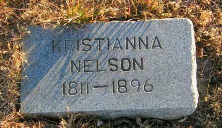 NELSON, KRISTIANNA - Lincoln County, South Dakota | KRISTIANNA NELSON - South Dakota Gravestone Photos