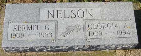 NELSON, GEORGIA A - Lincoln County, South Dakota | GEORGIA A NELSON - South Dakota Gravestone Photos