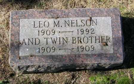 NELSON, TWIN - Lincoln County, South Dakota   TWIN NELSON - South Dakota Gravestone Photos