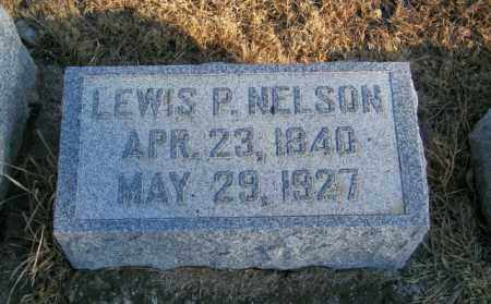 NELSON, LEWIS P - Lincoln County, South Dakota | LEWIS P NELSON - South Dakota Gravestone Photos