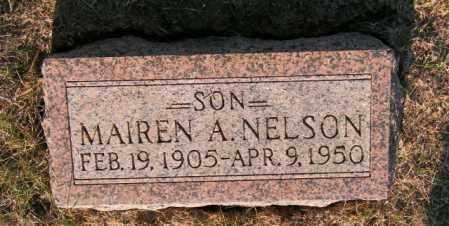 NELSON, MAIREN A - Lincoln County, South Dakota | MAIREN A NELSON - South Dakota Gravestone Photos