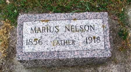 NELSON, MARIUS - Lincoln County, South Dakota   MARIUS NELSON - South Dakota Gravestone Photos