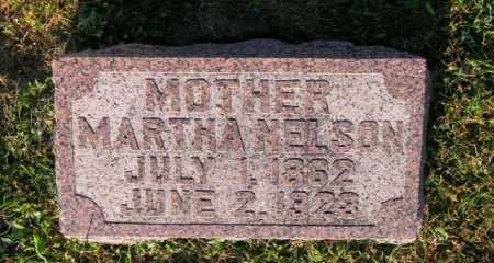 NELSON, MARTHA - Lincoln County, South Dakota | MARTHA NELSON - South Dakota Gravestone Photos