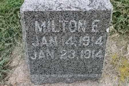 NELSON, MILTON E - Lincoln County, South Dakota | MILTON E NELSON - South Dakota Gravestone Photos