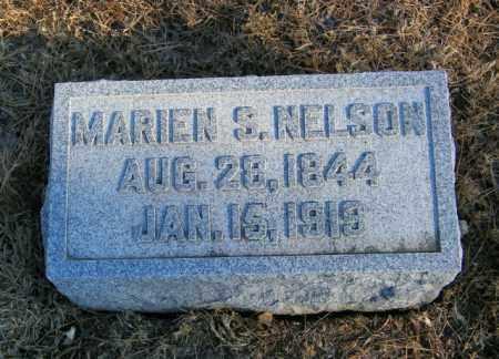 NELSON, MARIEN S - Lincoln County, South Dakota | MARIEN S NELSON - South Dakota Gravestone Photos