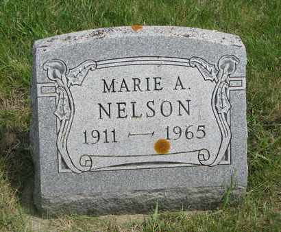 NELSON, MARIE A. - Lincoln County, South Dakota | MARIE A. NELSON - South Dakota Gravestone Photos