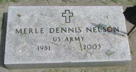 NELSON, MERLE DENNIS - Lincoln County, South Dakota | MERLE DENNIS NELSON - South Dakota Gravestone Photos