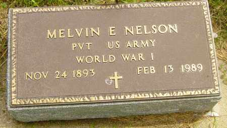 NELSON, MELVIN E - Lincoln County, South Dakota | MELVIN E NELSON - South Dakota Gravestone Photos