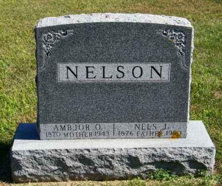 NELSON, AMBJOR O - Lincoln County, South Dakota | AMBJOR O NELSON - South Dakota Gravestone Photos