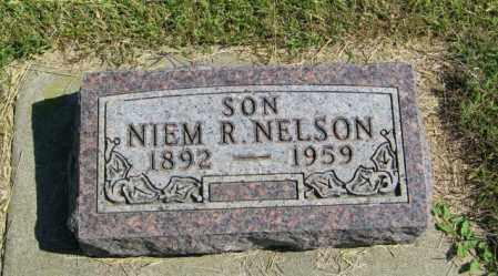 NELSON, NIEM R - Lincoln County, South Dakota | NIEM R NELSON - South Dakota Gravestone Photos
