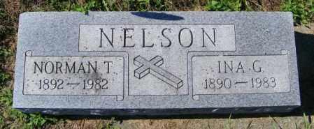NELSON, NORMAN T. - Lincoln County, South Dakota | NORMAN T. NELSON - South Dakota Gravestone Photos