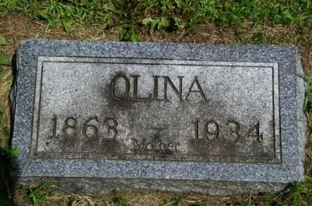 NELSON, OLINA - Lincoln County, South Dakota | OLINA NELSON - South Dakota Gravestone Photos