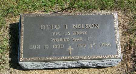 NELSON, OTTO T - Lincoln County, South Dakota   OTTO T NELSON - South Dakota Gravestone Photos
