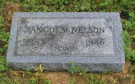NELSON, RANGDI M - Lincoln County, South Dakota | RANGDI M NELSON - South Dakota Gravestone Photos